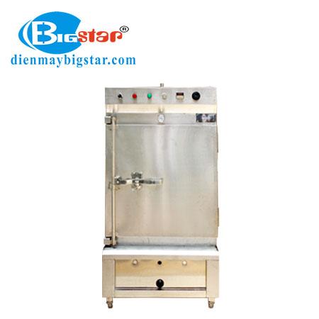 Tủ nấu cơm điện gas 6 khay